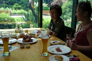 Koreans and German food